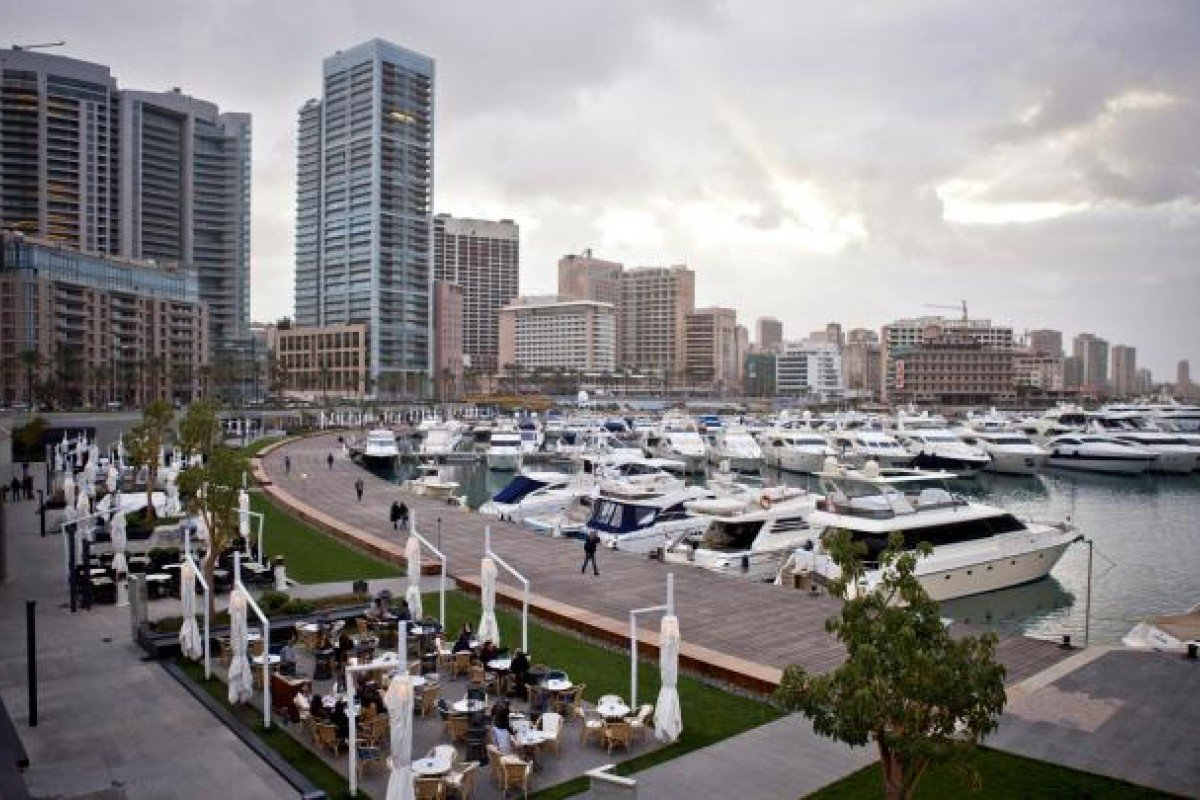 The marina at Zaitunay Bay.  Photo: Corbis