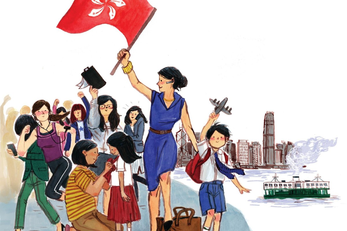 Working in Hong Kong is different from working in Britain because of Hong Kong's strong work ethic