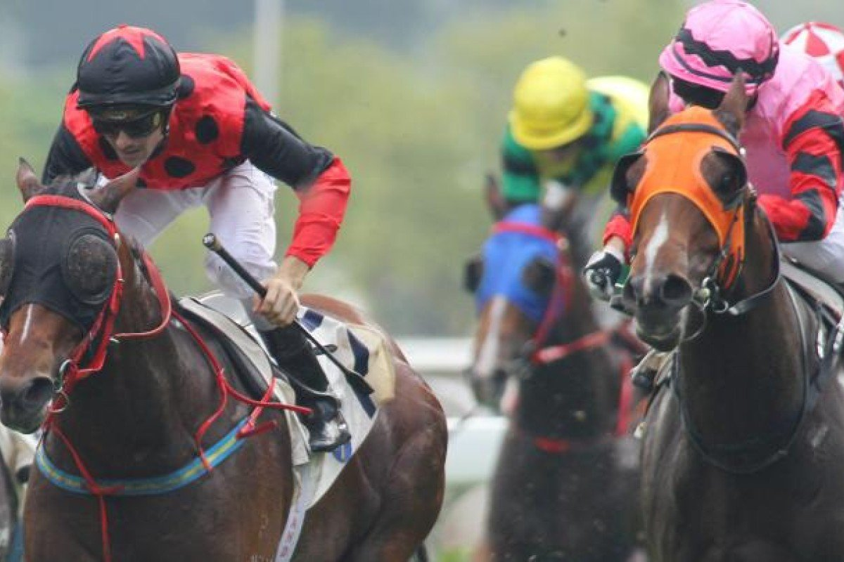 Hearts Keeper (right) nearly delivered on the desired day for one of his owners. Photo: Kenneth Chan