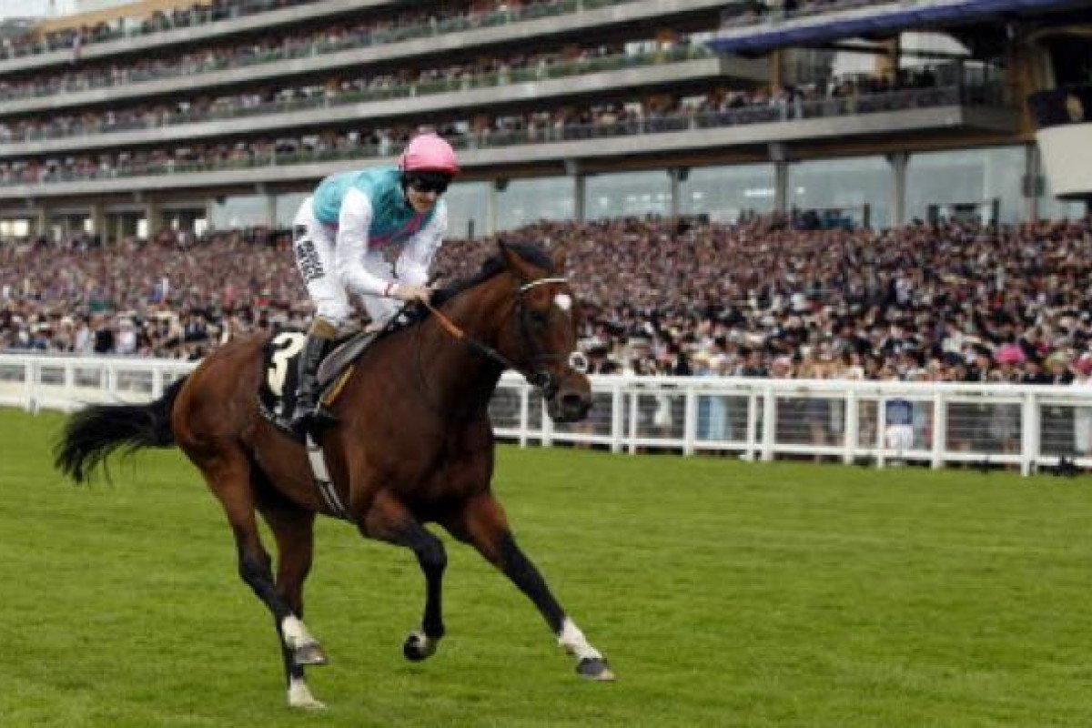 Tom Queally on Frankel. Photo: Reuters