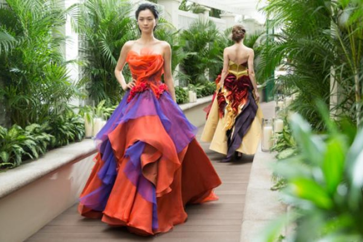 Gowns inspired by corals