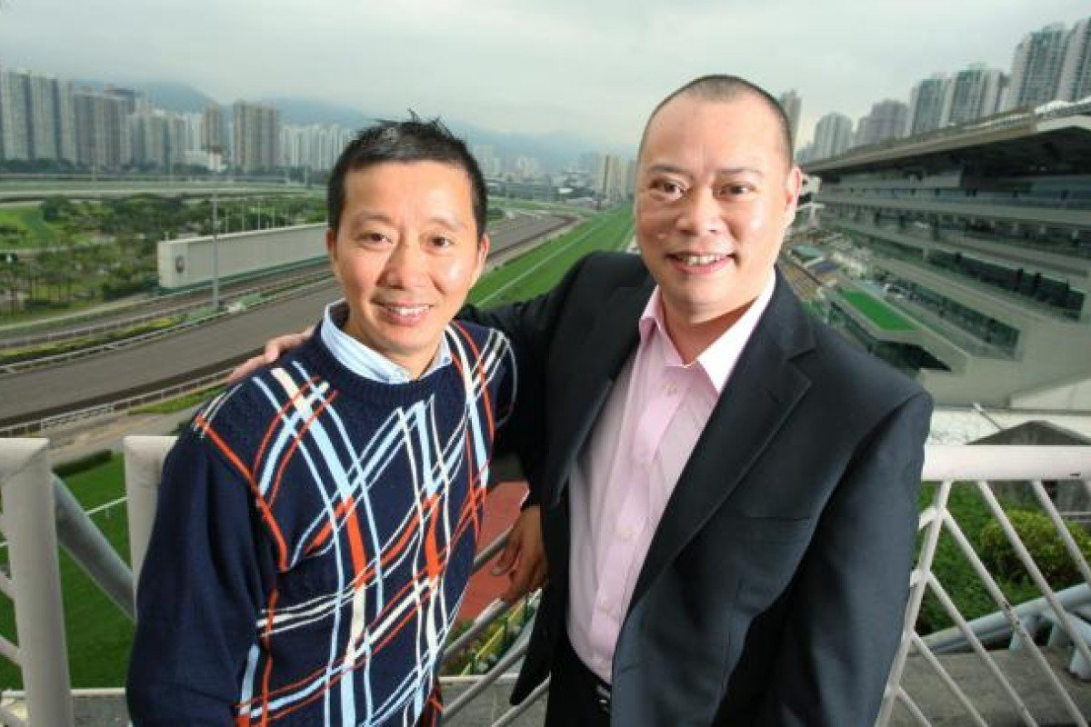 Newly promoted trainers Benno Yung and Chris So. Photo: Kenneth Chan