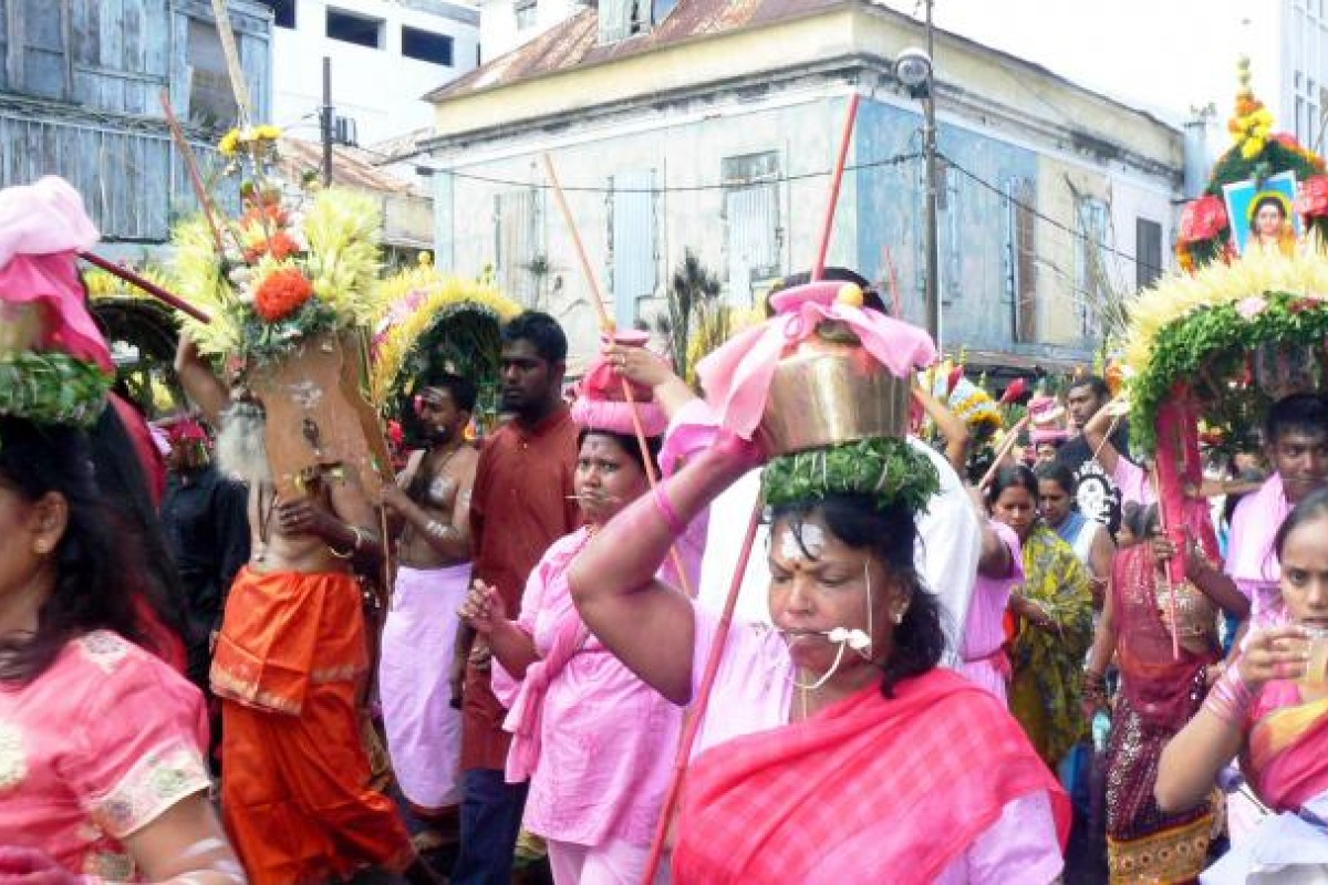 Hindu worshippers celebrate Kavadi, a festival of penance.