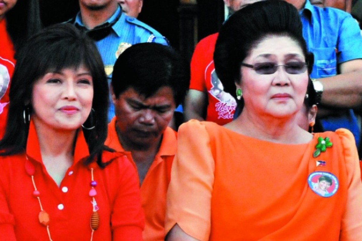 Imelda and daughter Imee (left).