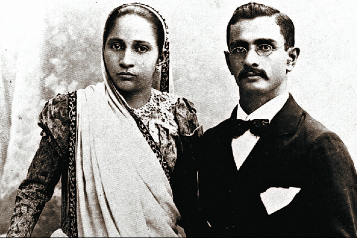 Jehangir Ruttonjee and his wife, Banoo.