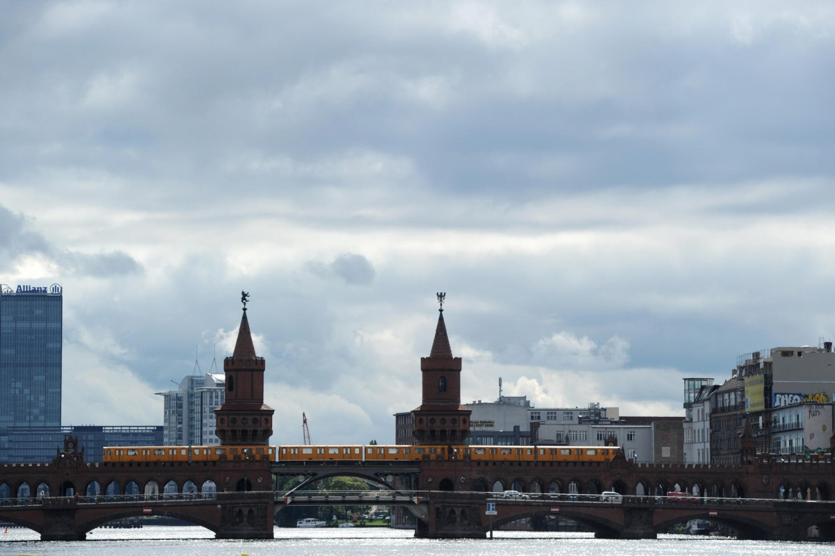 Berlin's Oberbaum Bridge.