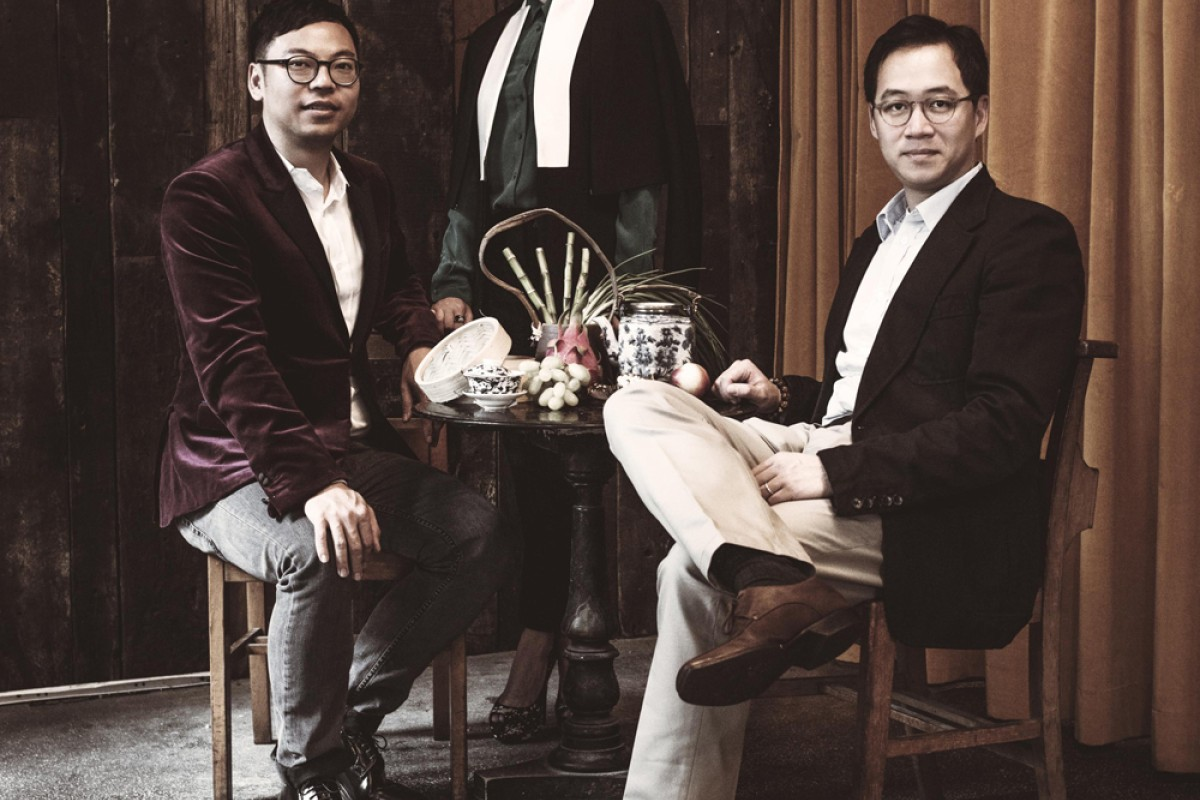 The founders of Duddell's (from left) Alan Lo, Yenn Wong and Paulo Pong. The trio remain active in the art scene.