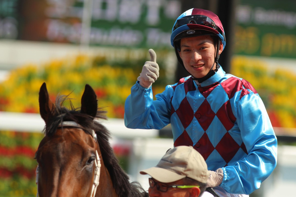 Matthew Chadwick probably won't be giving the new rules the thumbs up - they would have cost him an extra HK$100,000 and seven days if in place last season. Photo: Kenneth Chan