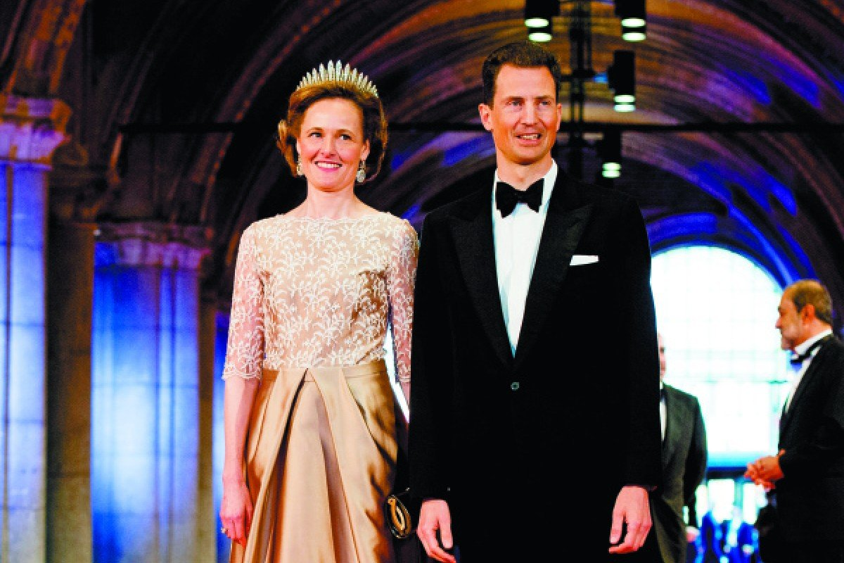 Prince Alois of Liechtenstein and his wife, Princess Sophie.