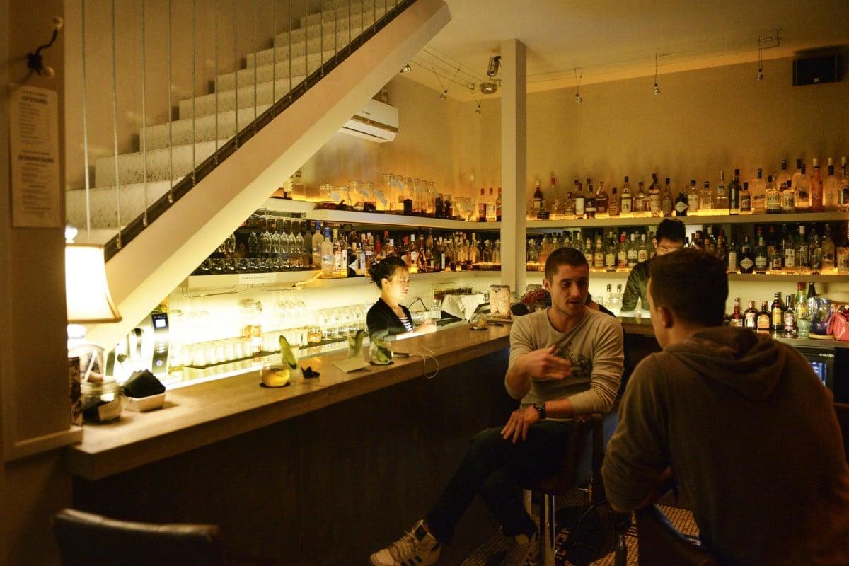The Ginseng bar.