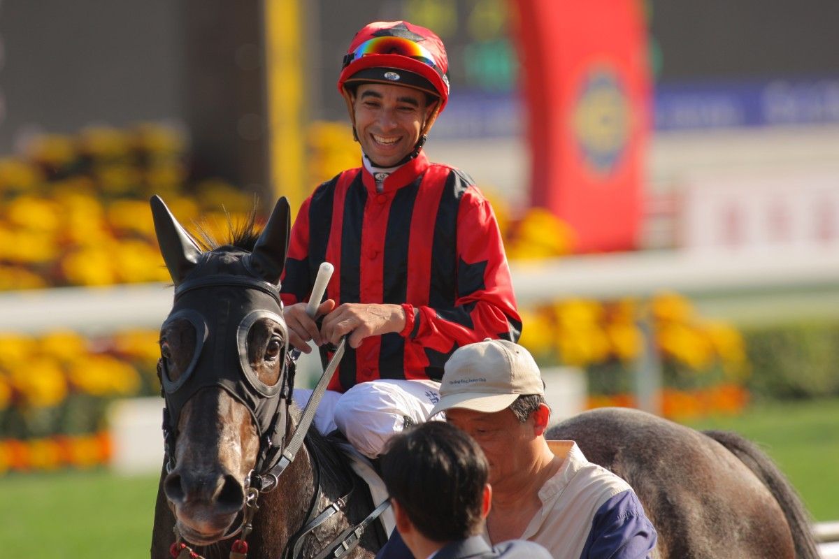 Joao Moreira had a night to forget on Wednesday, but can rebound at Sha Tin on Saturday. Photo: Kenneth Chan