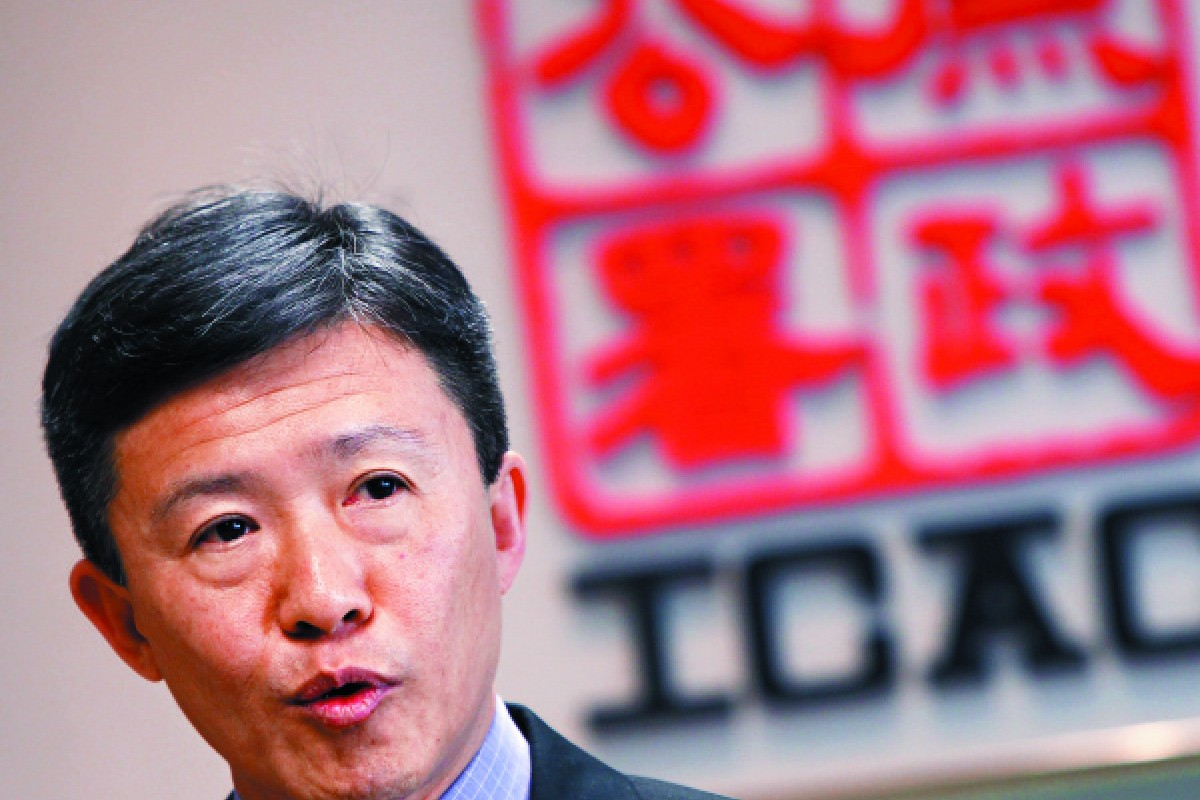 ICAC commissioner Simon Peh Yun-lu.