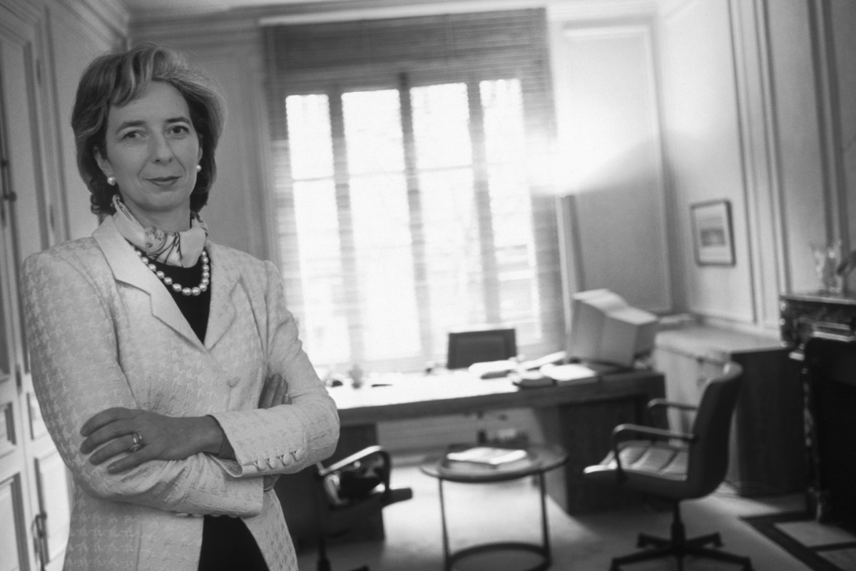 Lagarde in 2000, when she was chairman of law firm Baker & McKenzie's executive committee.