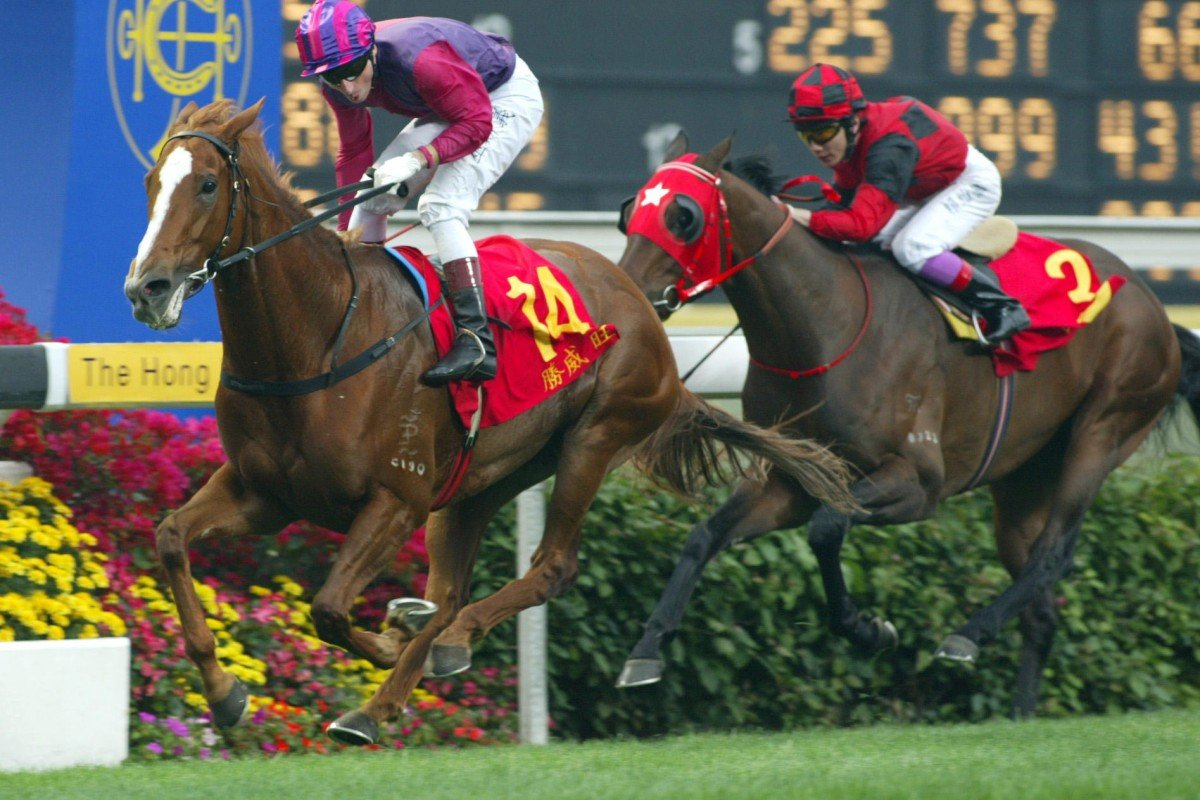 Elegant Fashion and Gerald Mosse brought success for owner Gene Tsoi in the 2003 Derby. Photo: Kenneth Chan