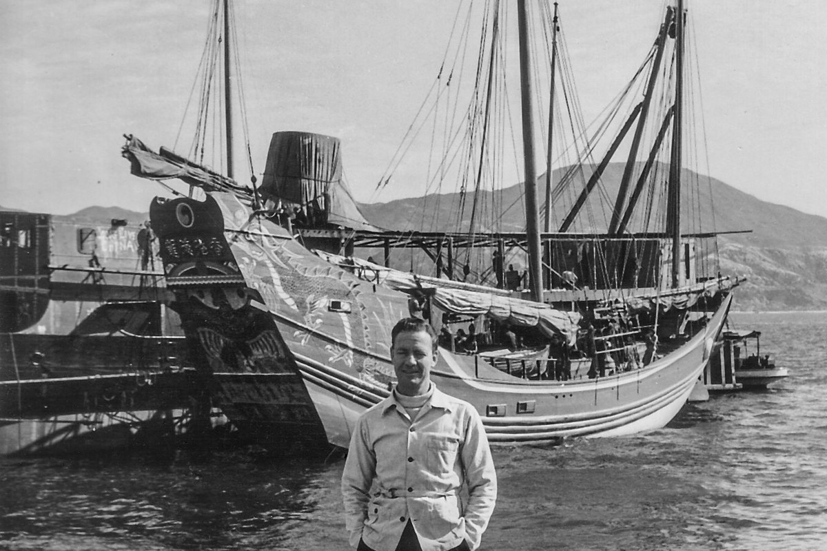 Richard Halliburton and the Sea Dragon. Photos: courtesy of Maxine Sample / Don Schrepel; Rhodes College Special Collections; Jonathan Wong