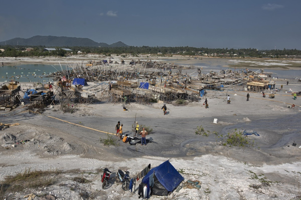 casualties of ore tin mining is devastating the indonesian island