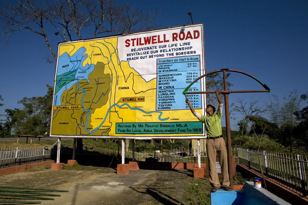 passage from following the stilwell road post magazine stilwell park in likhapani near ledo in assam the park commemorates