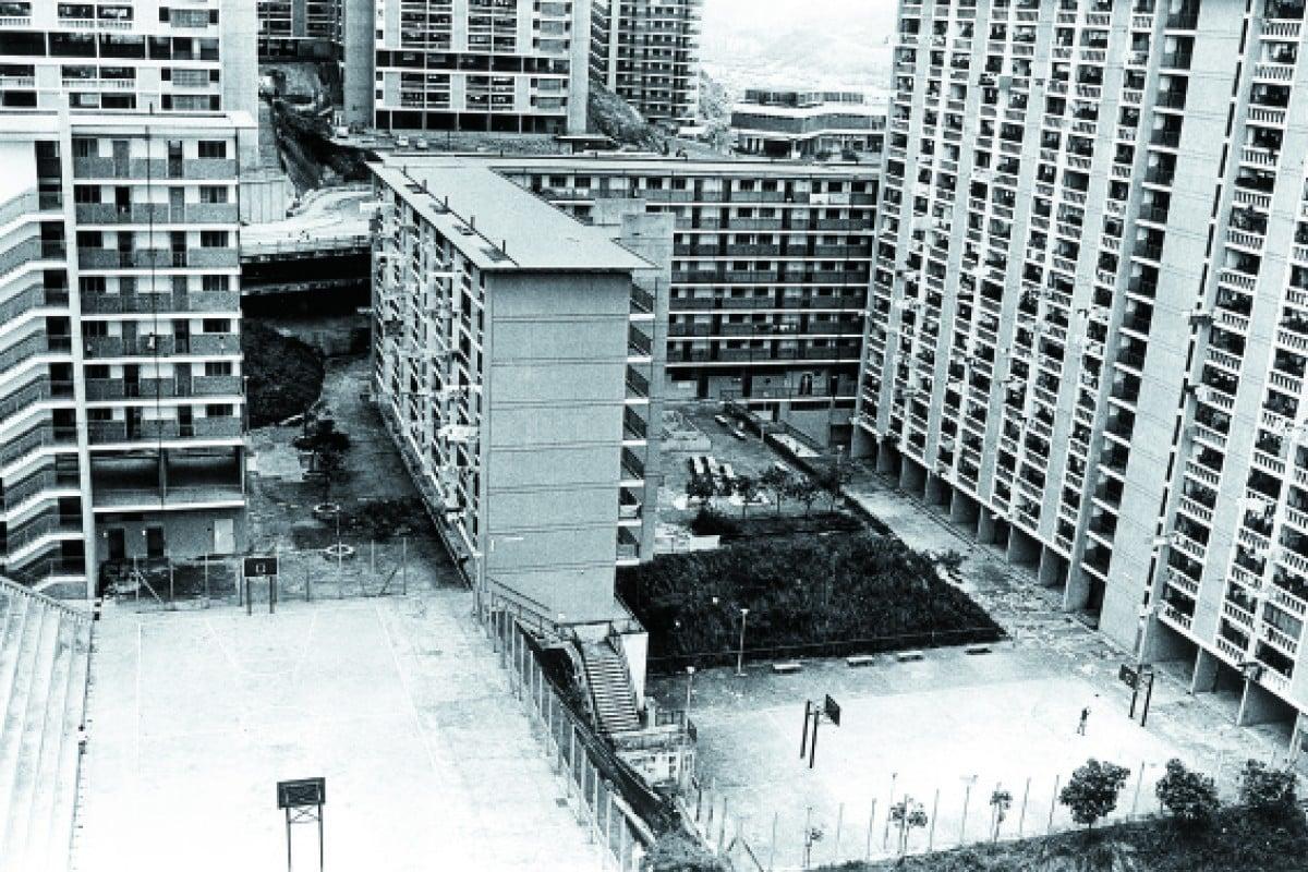 Wah Fu Estate pictured in July 1973.