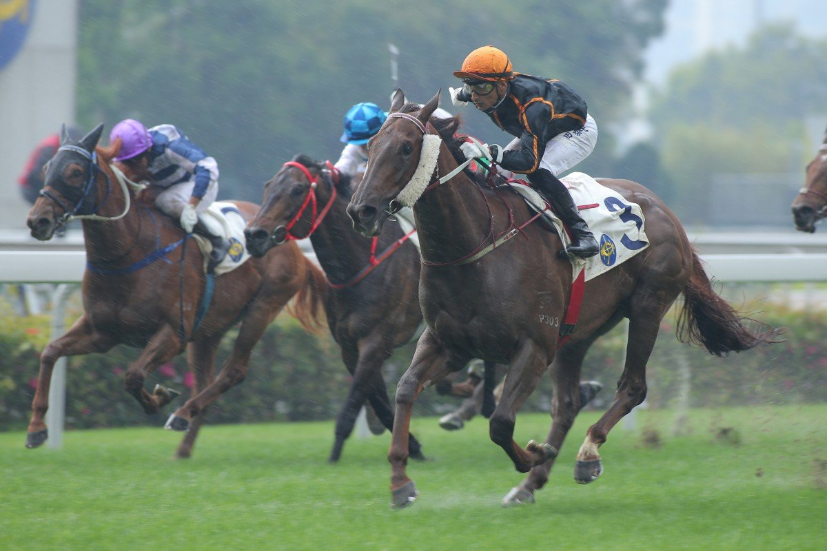It may have been wet when Able Friend won the Chairman's Trophy, but the track didn't get any worse than good-to-yielding.