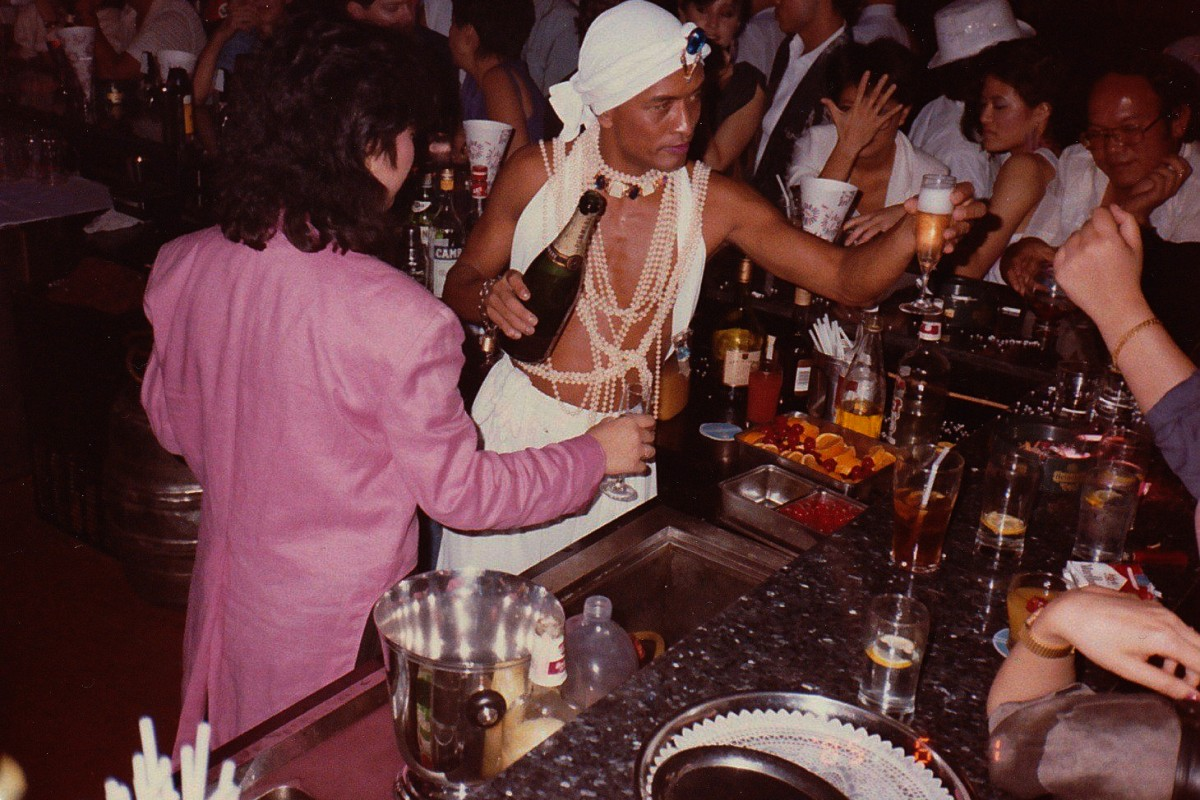 Disco Disco, Lan Kwai Fong, in the 1980s. Photos: SCMP