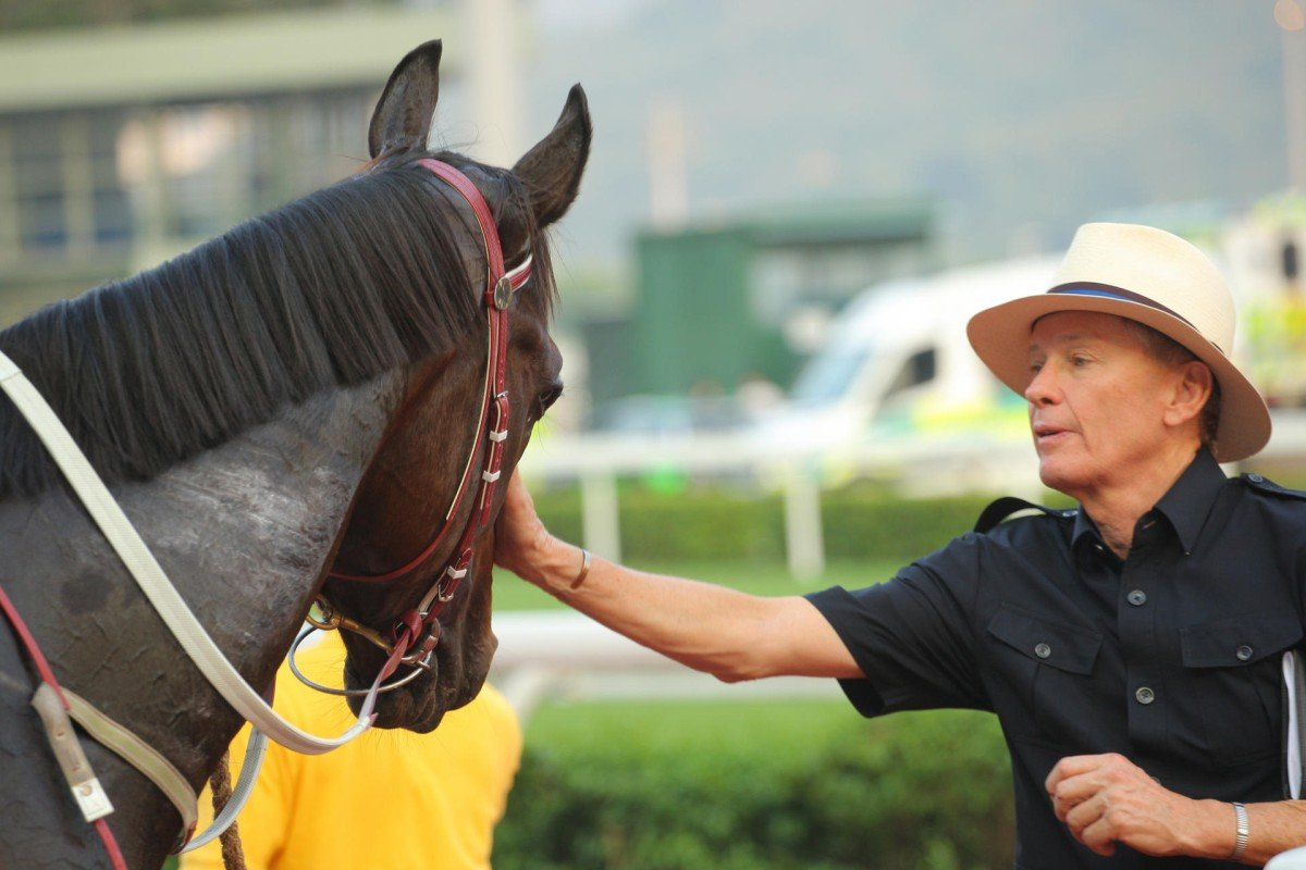 John Moore won't race Dan Excel in the Cox's Plate because of a throat issue. Photo: Kenneth Chan