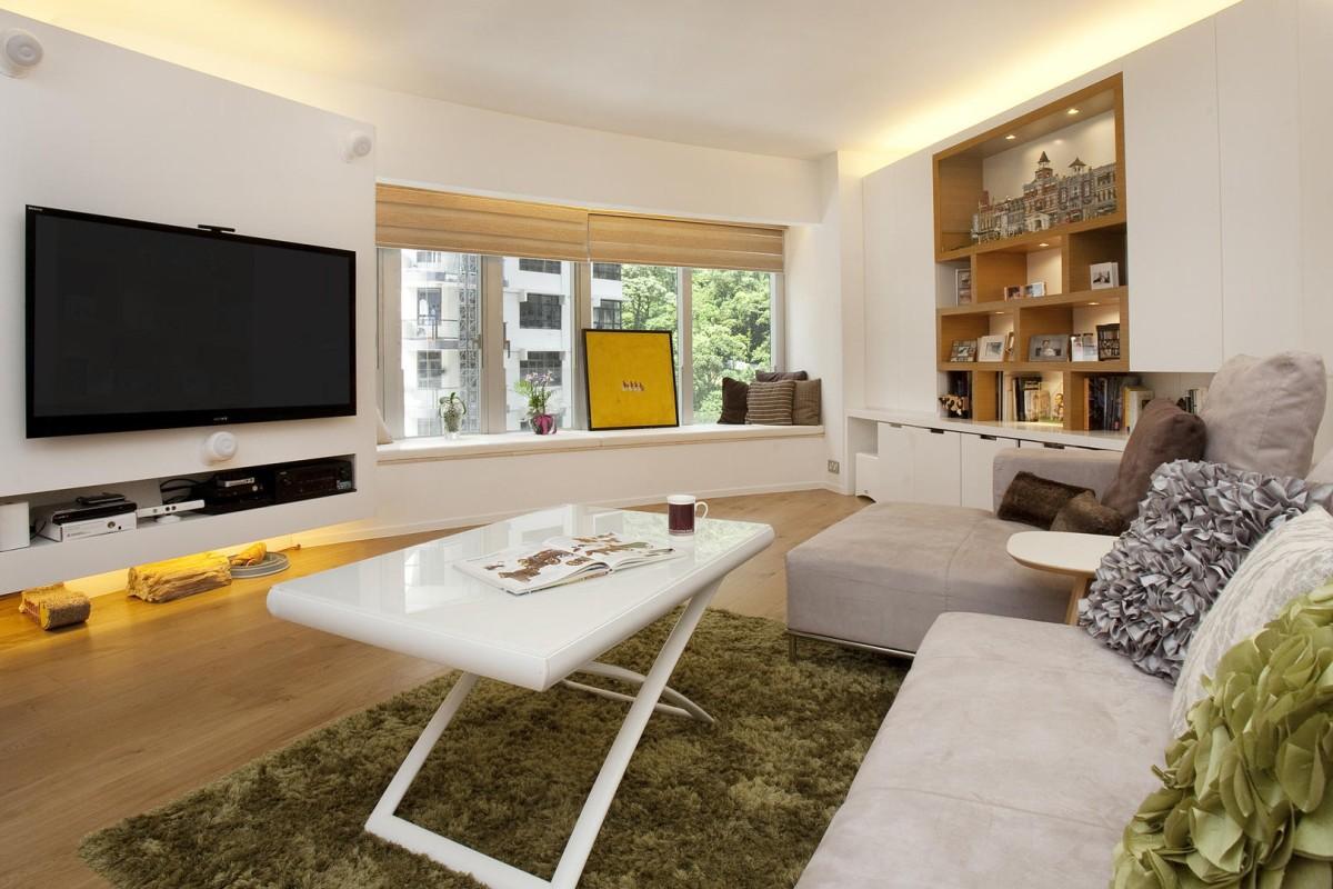 Hong Kong Couples Loft Inspired High Rise Flat A Design Dream Come True