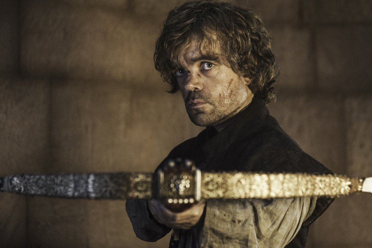 """The Lannisters were rich, so their world is flamboyant,"" saysTommy Dunne, explaining his inspiration for weaponry such as Tyrion Lannister's crossbow."