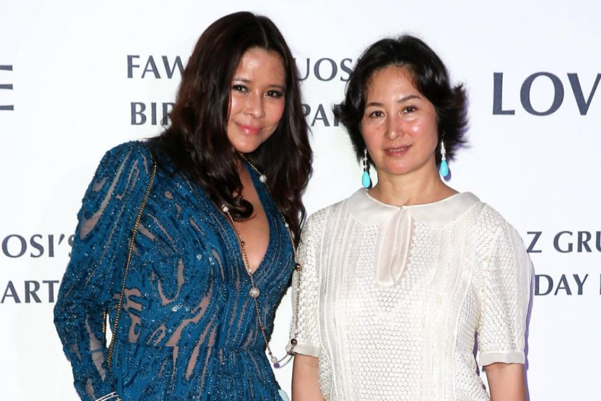 Yvette Yeung and Pansy Ho
