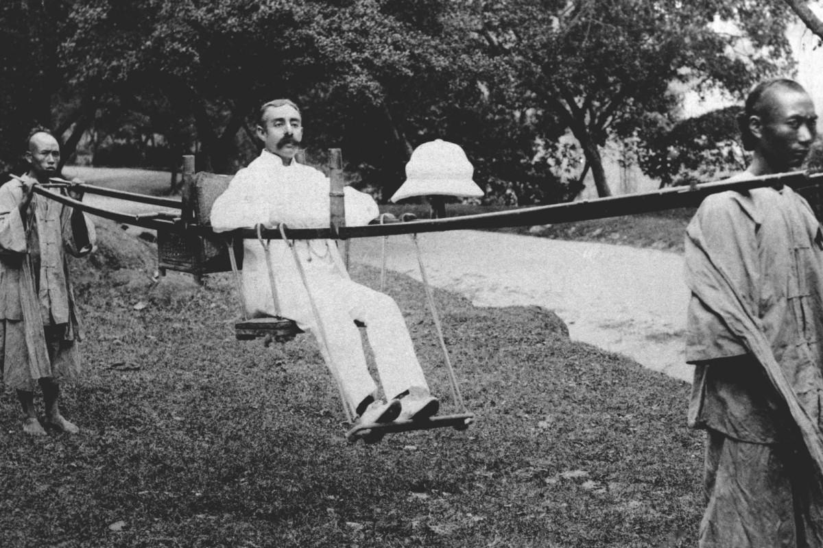 The expatriate commute in 1903. Photo: SCMP