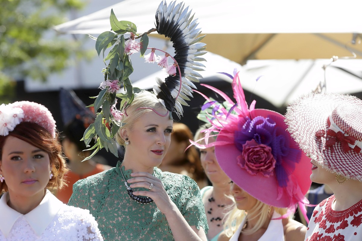 The fashionistas are out in force for the Melbourne Cup. Photo: Reuters