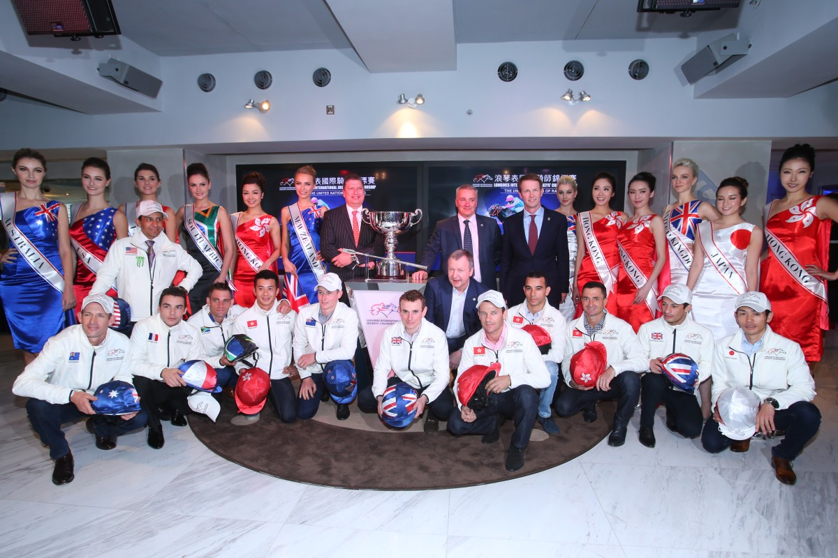 Twelve of the world's leading riders will contest the Longines International Jockeys' Championship at Happy Valley on Wednesday night. Photo: Kenneth Chan