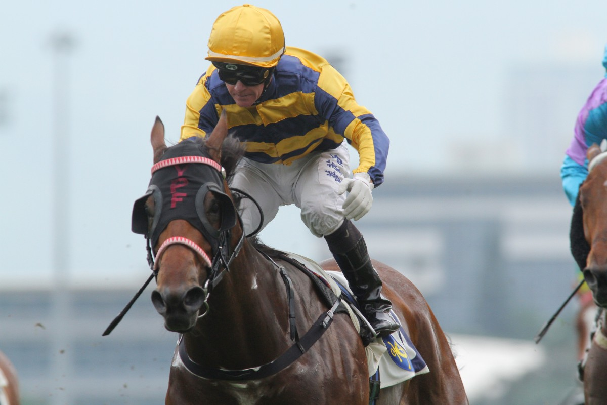 Fantastico's last win came for New Zealand-based jockey Mark Du Plessis in June, 2014. Photo: Kenneth Chan
