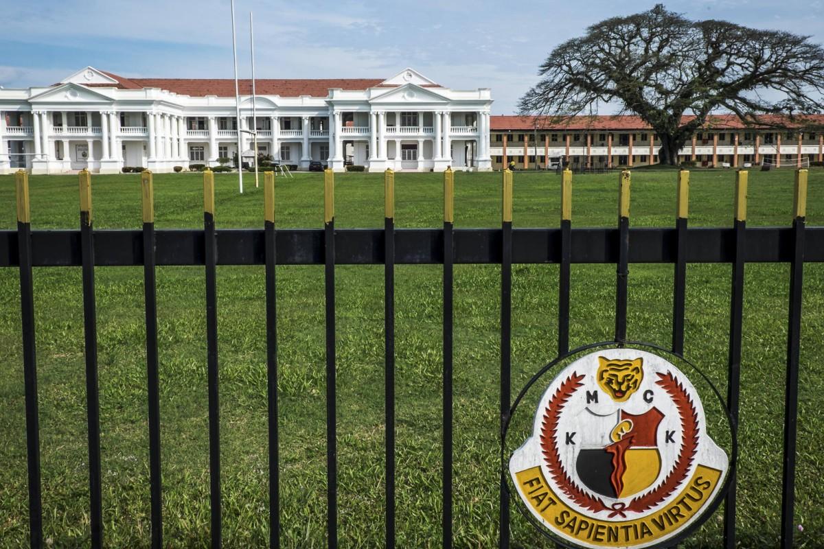 The Malay College, in Kuala Kangsar.