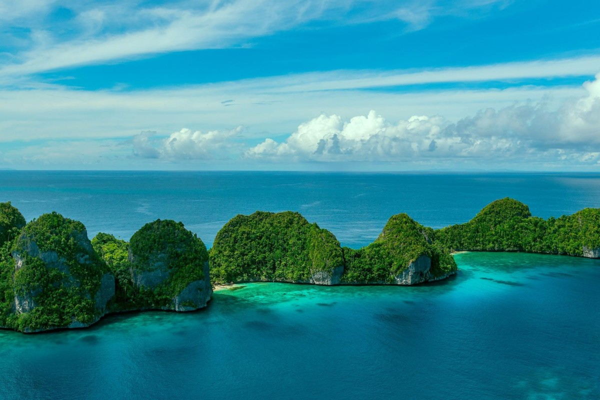 Islands in the Raja Ampat archipelago, in Indonesia's West Papua province. Photos: Cameron Dueck; Corbis