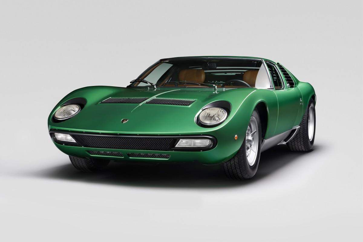 Restored Lamborghini Miura SV