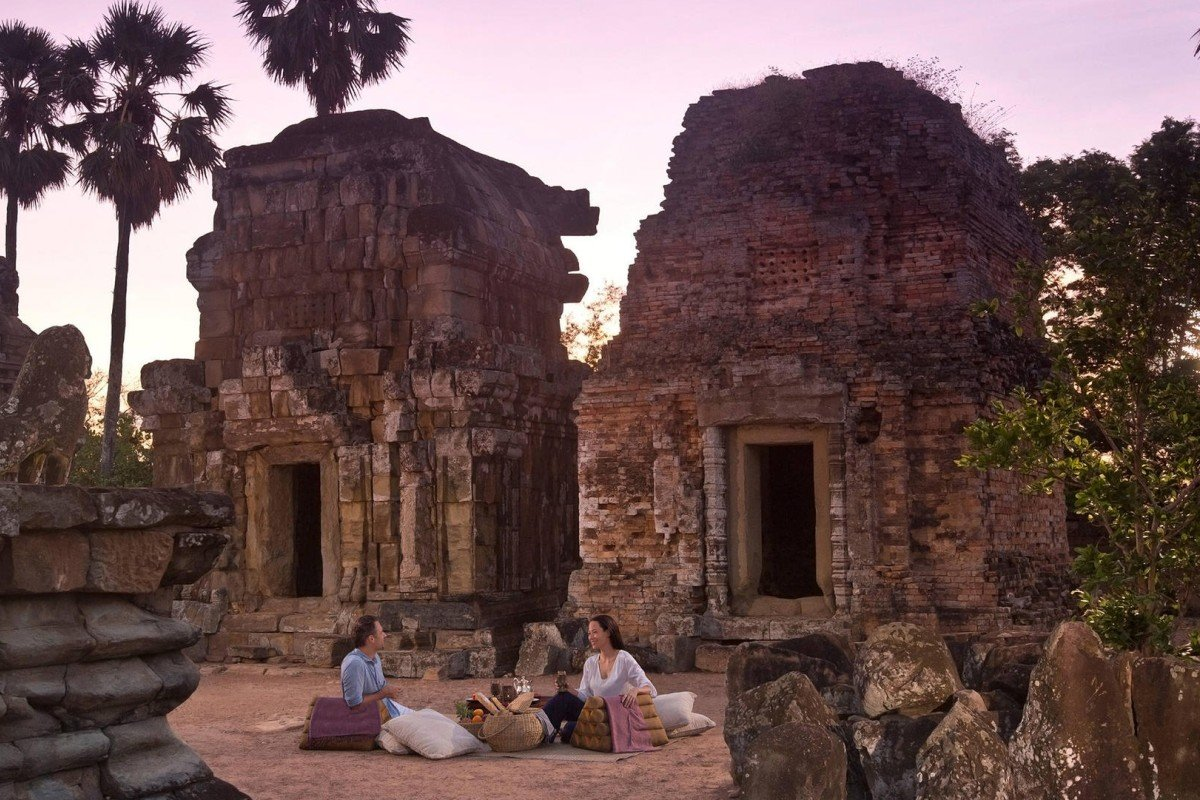 Part of the Angkor temples complex near Siem Reap, Cambodia