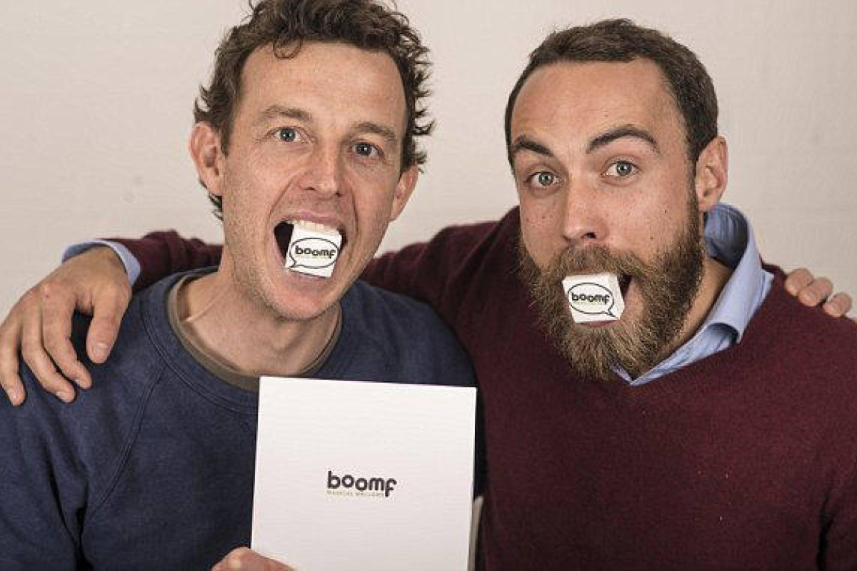 Boomf founders Andy Bell (left) and James Middleton.