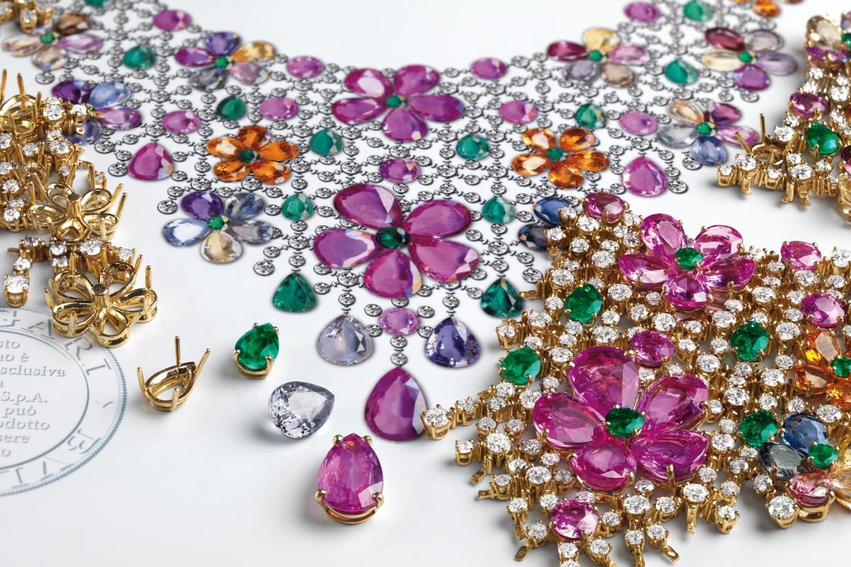 Bulgari showcases high jewellery in Hong Kong.