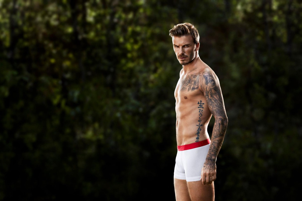 David Beckham collaborated with H&M bodywear.