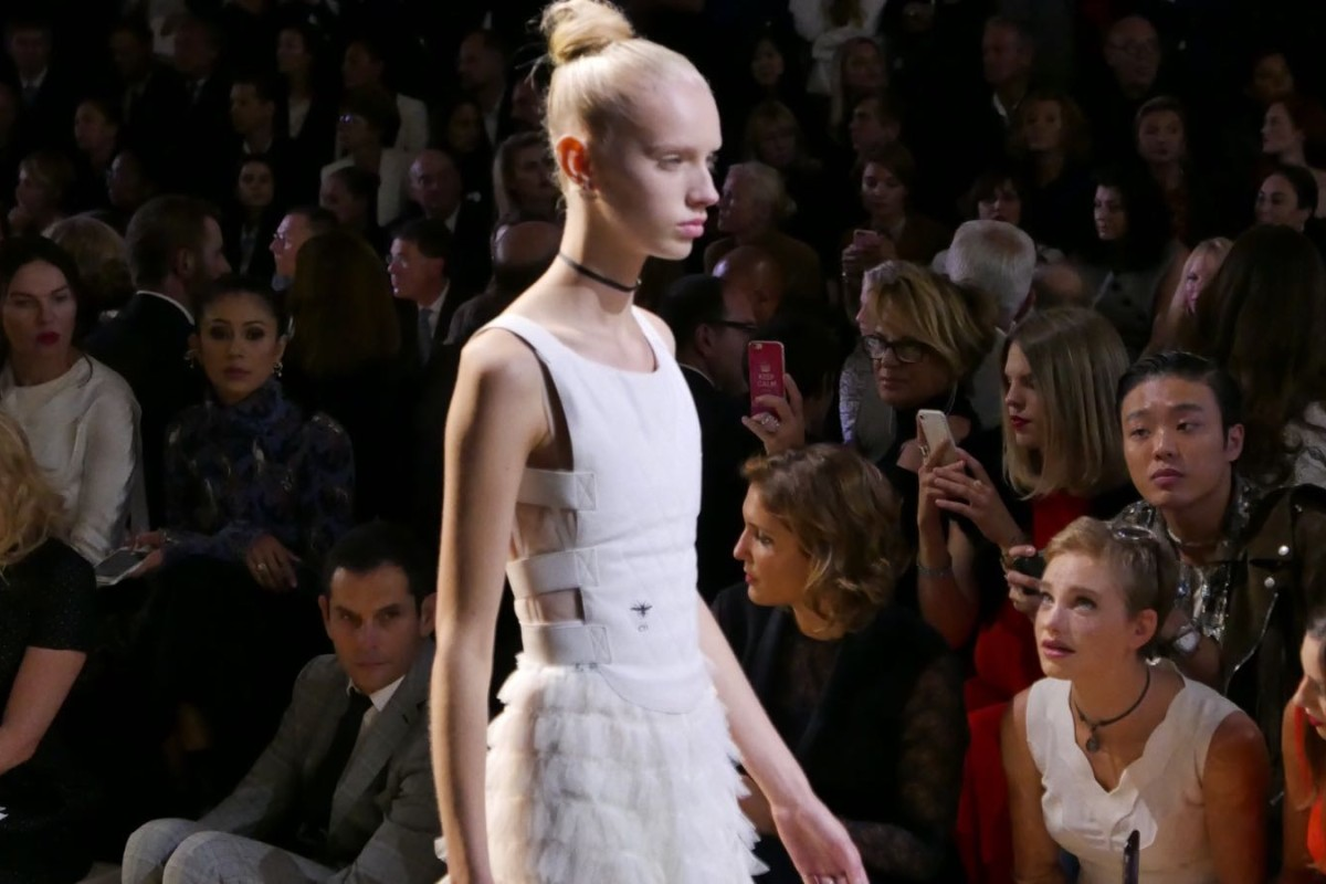 Spring summer 2017 paris fashion week - Maria Grazia Chiuri Steps Out With Fencing Themed