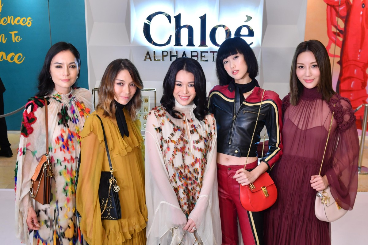 Celebrities and socialites were all dressed in Chloé to support the event.