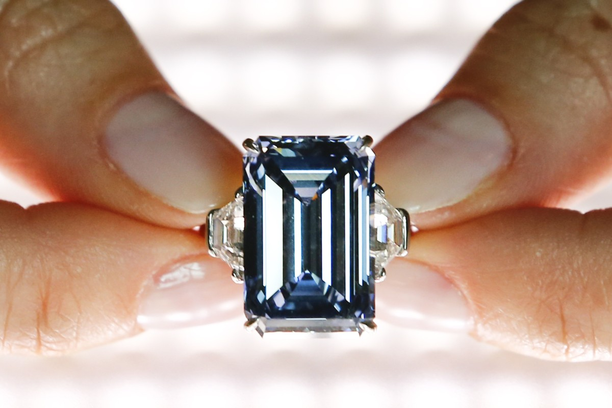 The 14.62ct Oppenheimer Blue
