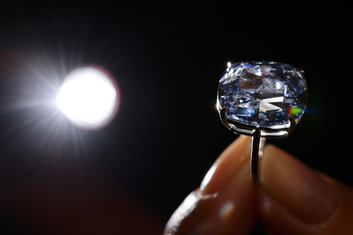 The 12.03ct Blue Moon of Josephine