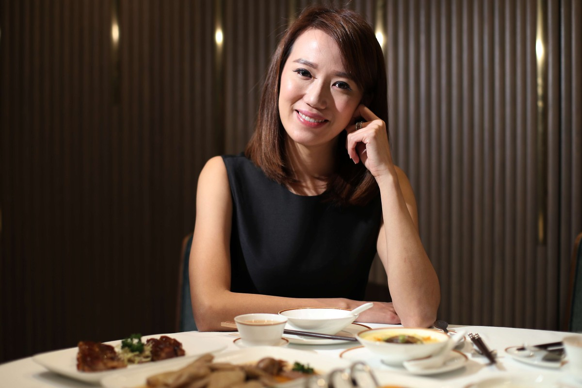 Portrait of Norma Chu, founder of DayDayCook, during food tasting session at The Chin's restaurant in Central. Photo: SCMP / Nora Tam