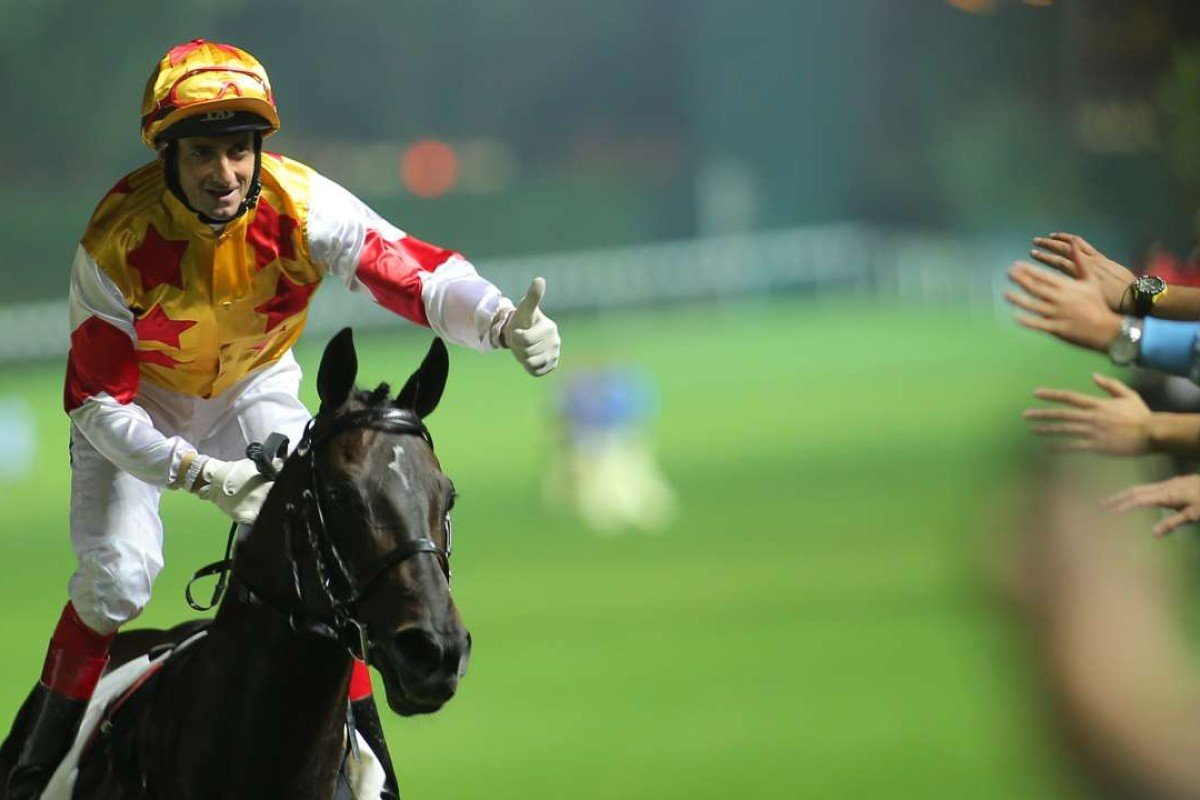 Douglas Whyte will return to South Africa to ride in the Durban July. Photo: Kenneth Chan
