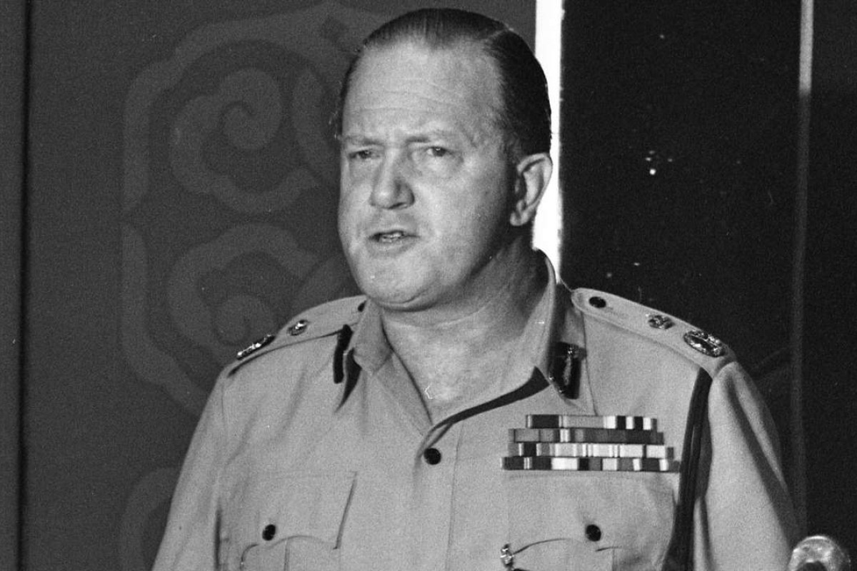 Roy Henry, police commissioner from 1979 to 1985, was one of many Hong Kong police officers who moved to the city from former British colonies. Photo: SCMP