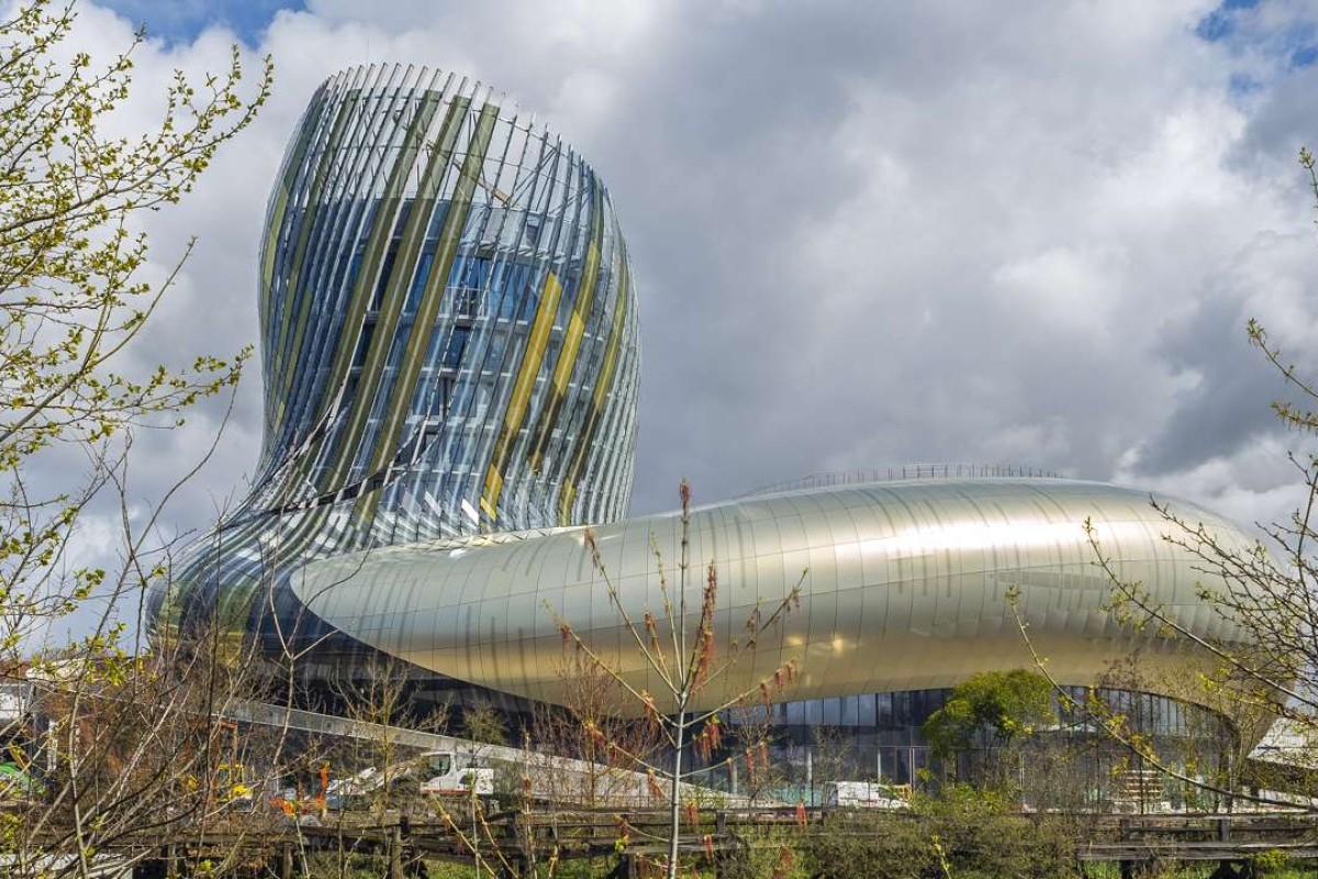The Cité du Vin, in Bordeaux, France. Pictures: Keith Mundy; Bordeaux Tourism