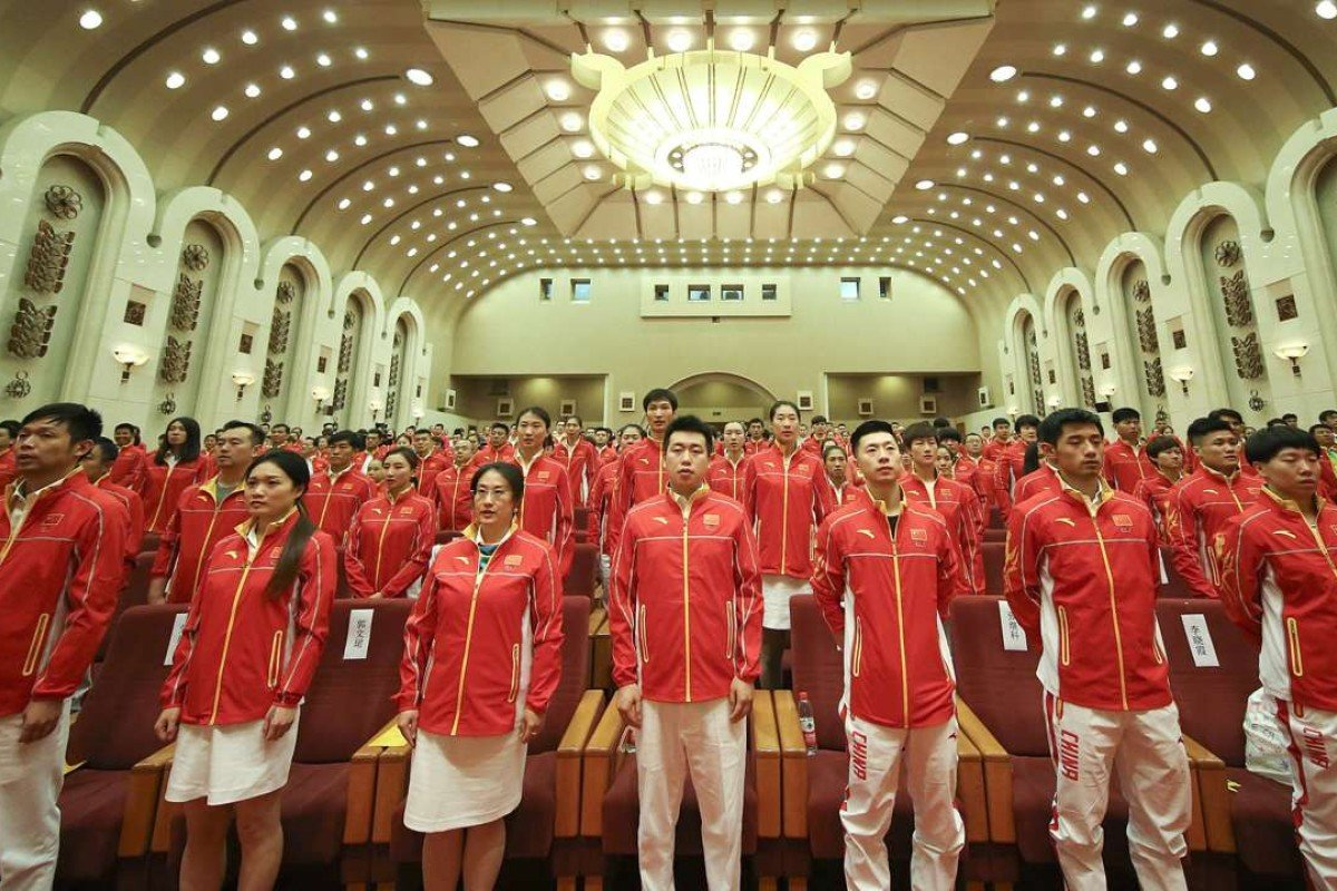 The Chinese delegation for the Rio Olympic Games includes 160 men and 256 women, competing in 210 events over 26 sports. Photo: Xinhua