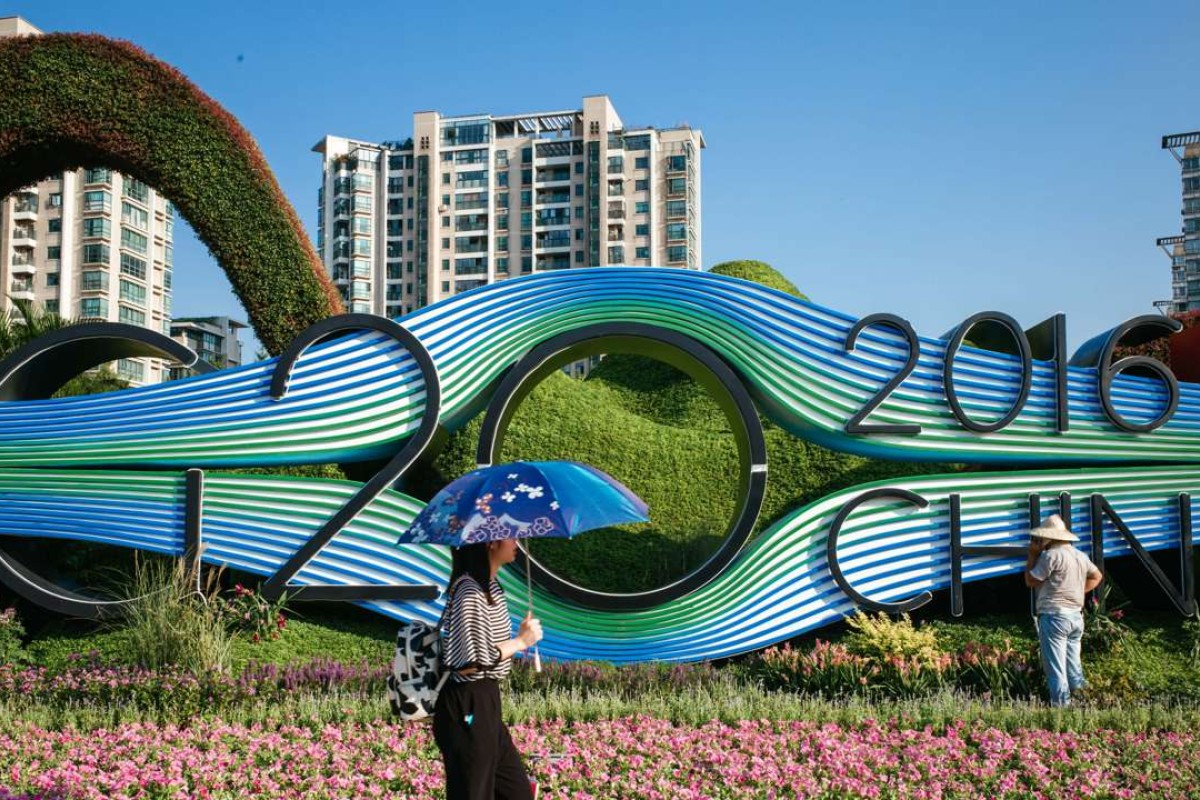 The Chinese city of Hangzhou will host the G20 this month. Photo: Xinhua