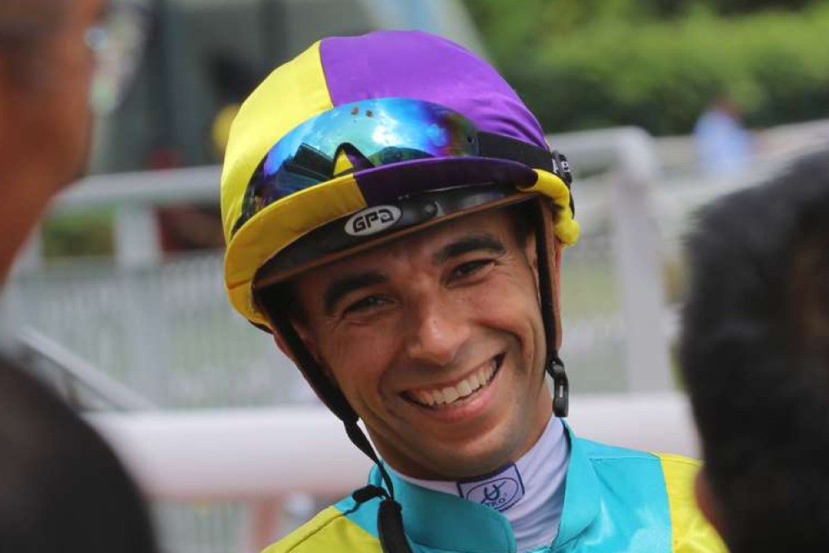 Star jockey Joao Moreira will play football for charity on Friday. Photos: Kenneth Chan